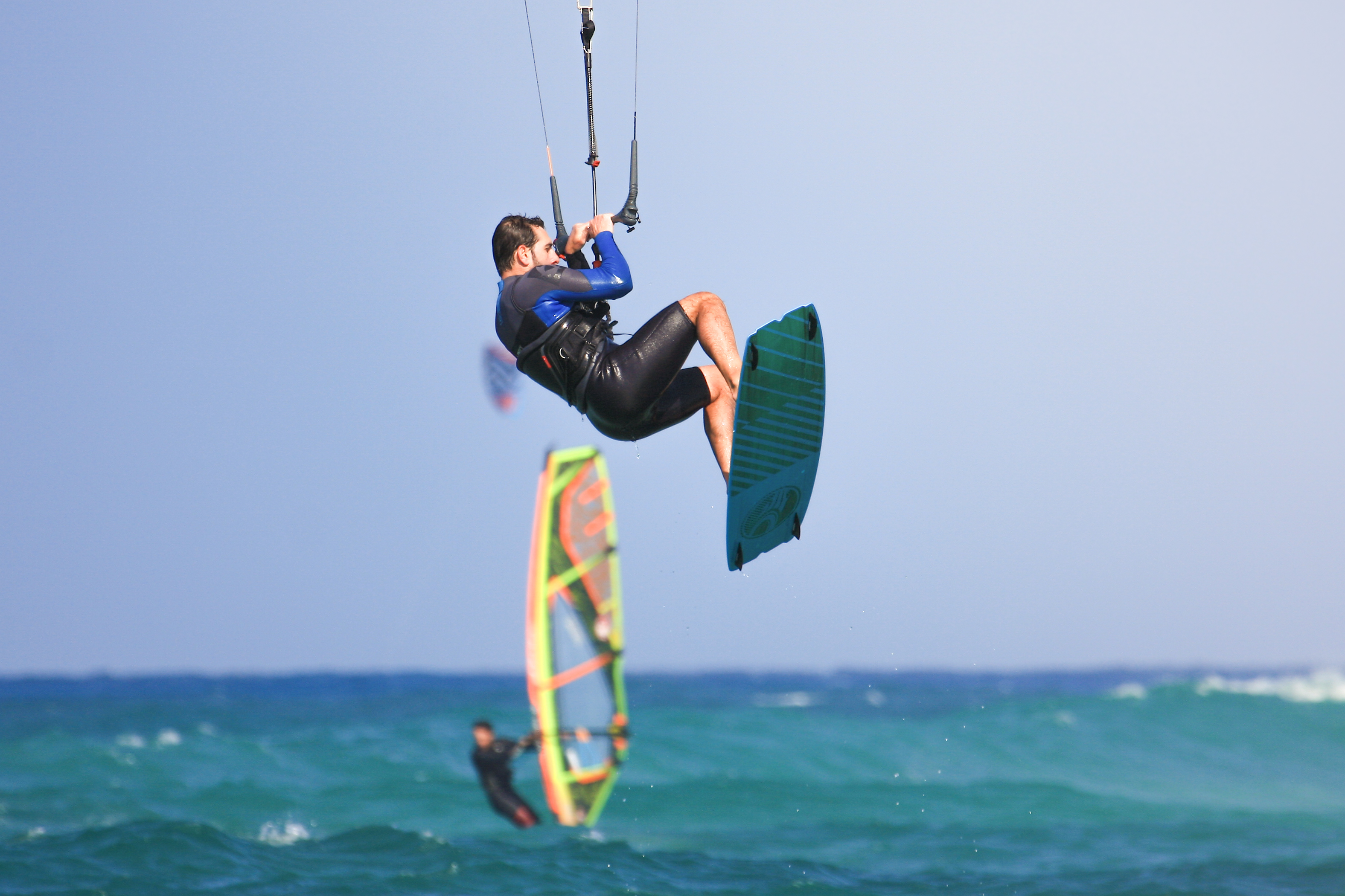 kiteFuerte - Kitesurfing Photographer in Fuerteventura Flag beach